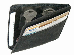 Spare Key in a Wallet